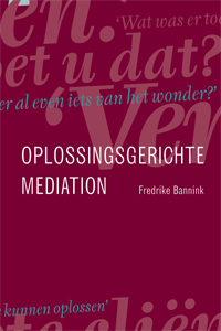Cover image Oplossingsgerichte Mediation