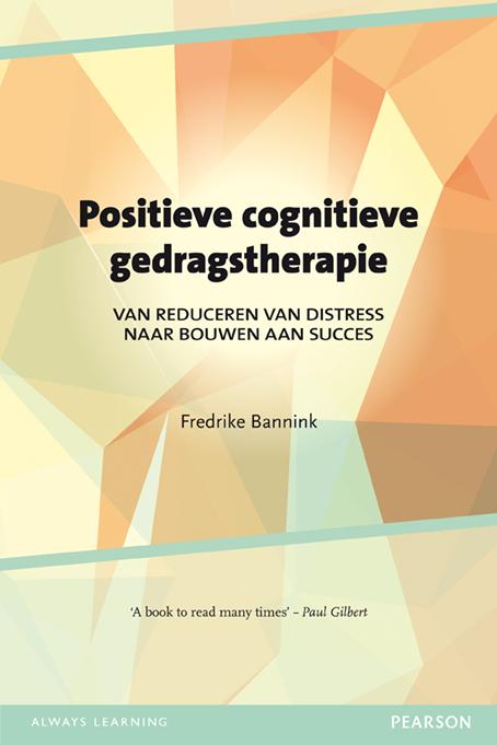 Cover image Positieve cognitieve gedragstherapie