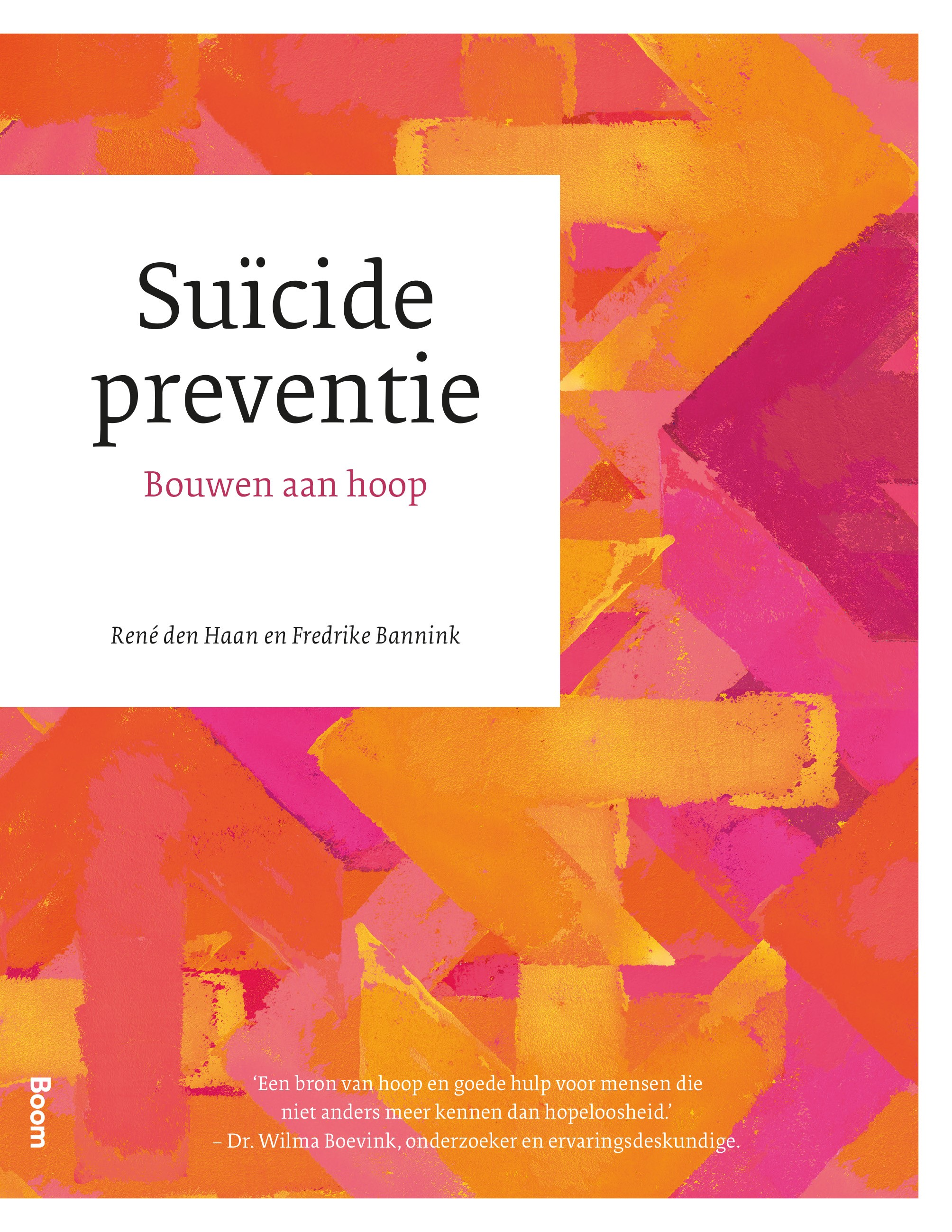 Cover image Suïcidepreventie – Bouwen aan hoop